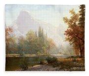 Half Dome Yosemite Fleece Blanket