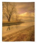 Half Reflections Fleece Blanket