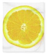 Half The Orange Fleece Blanket