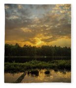 Haliburton Sunrise Fleece Blanket