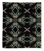 Hall Of Mirrors In Abstract Fleece Blanket