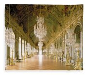 Hall Of Mirrors  The Galerie Des Glaces Fleece Blanket