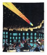 Halleys Comet, 1910 Fleece Blanket