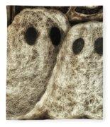 Halloween Ghosts Boo Fleece Blanket