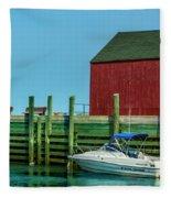 Hall's Harbour Fleece Blanket