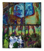 Hallucinatory Rawness Fleece Blanket