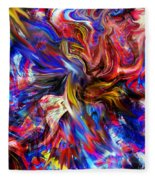 Halos And Passions. Fleece Blanket