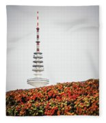 Hamburg - Tv Tower Fleece Blanket