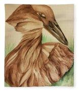 Hamerkop Fleece Blanket
