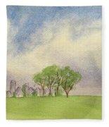 Hamlin Town Fleece Blanket
