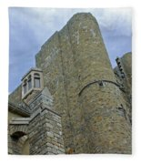 Hammond Castle Detail - Gloucester Ma Fleece Blanket