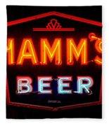Hamm's Beer Fleece Blanket