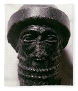 Hammurabi (d. 1750 B.c.) Fleece Blanket