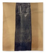 Hammurabis Code Fleece Blanket
