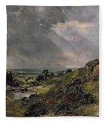 Hampstead Heath Fleece Blanket