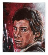 Han Solo Fleece Blanket