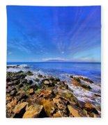 Hanakao'o Beach Fleece Blanket