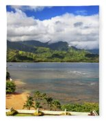 Hanalei Bay Fleece Blanket
