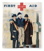 Handbook: First Aid Fleece Blanket