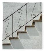 Handrail And Steps 1 Fleece Blanket