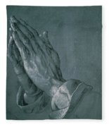Hands Of An Apostle Fleece Blanket