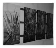 Hanging Art Fleece Blanket