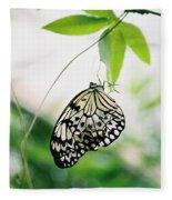 Hanging Butterfly Fleece Blanket