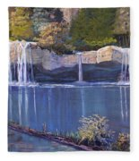 Hanging Lake Fleece Blanket
