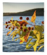 Hanging Out At The Lake Fleece Blanket