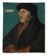 Hans Holbein The Younger Fleece Blanket