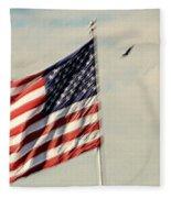 Happy Birthday America Fleece Blanket
