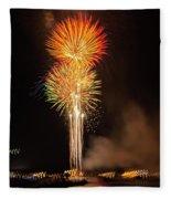 Happy Birthday, United States Of America 9 Fleece Blanket