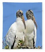 Happy Couple Fleece Blanket