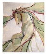 Happy Dancer Fleece Blanket