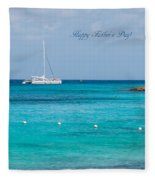 Happy Father's Day  2			 Fleece Blanket