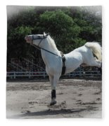 Happy Horse Fleece Blanket