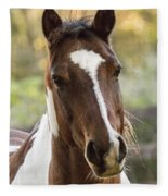 Happy Horse Fleece Blanket