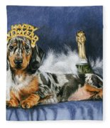 Happy New Year Fleece Blanket