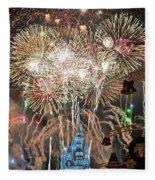 Happy New Year From Walt Disney World Fleece Blanket
