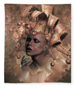 Happy Times Times From Yesterday Fleece Blanket