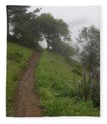 Happy Trail Fleece Blanket