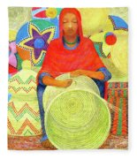 Harar Lady 2 Fleece Blanket