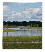 Harbor River Fleece Blanket
