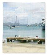 Harbor Fleece Blanket