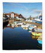 Harbour Side  Fleece Blanket