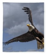 Hard Banking Eagle Fleece Blanket