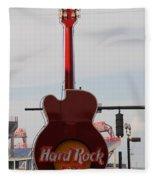 Hard Rock Cafe Nashville Fleece Blanket