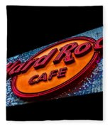 Hard Rock Hollywood Fleece Blanket