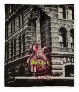 Hard Rock Philly Fleece Blanket