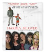 Hardly Beloved Poster Fleece Blanket